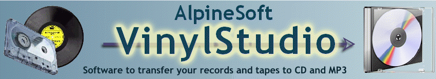 Transfer your vinyl records and tapes to CD and MP3